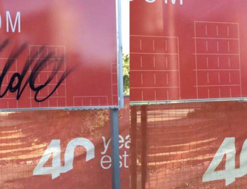 Anti-Graffiti For Printed Signage