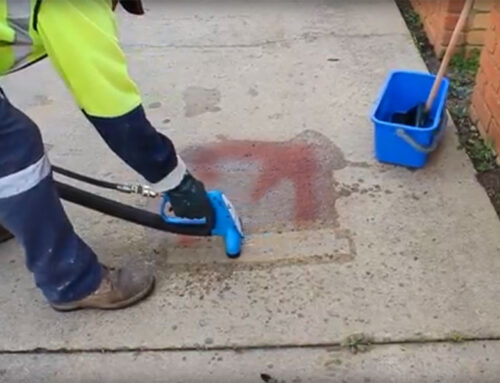 Cleaning Graffiti From Concrete