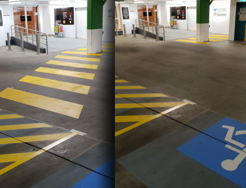 Removing Line Marking Paint